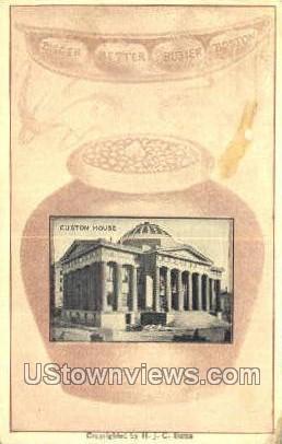 Custom House - Misc, Massachusetts MA Postcard