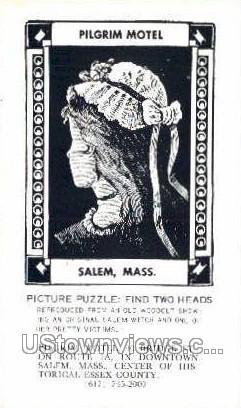 Pilgrim Motel - Salem, Massachusetts MA Postcard