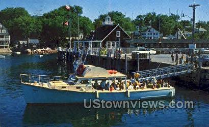 T Wharf, Rockport - Cape Ann, Massachusetts MA Postcard