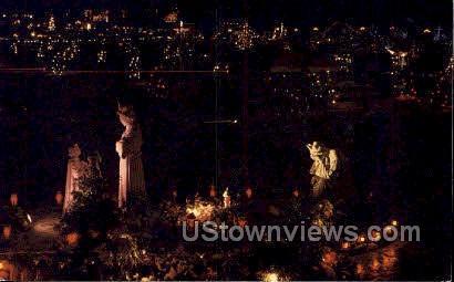 Shrine of Our Lady of the La Salette - Attleboro, Massachusetts MA Postcard