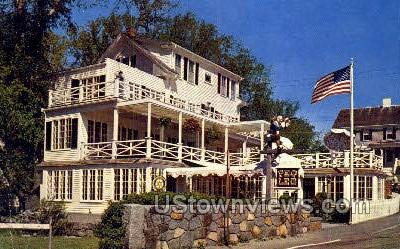 Peg Leg's - Rockport, Massachusetts MA Postcard
