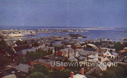 Cupola, Old South Tower - Nantucket, Massachusetts MA Postcard