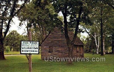 1753 House - Willamstown, Massachusetts MA Postcard