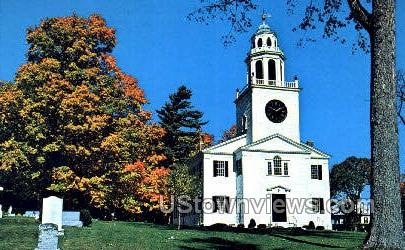 Congregational Church - Lenox, Massachusetts MA Postcard