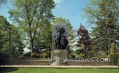 Soldiers & Sailors Monument - Pittsfield, Massachusetts MA Postcard