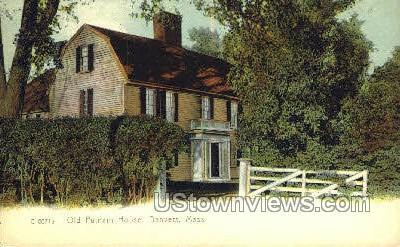 Old Putnam House - Danvers, Massachusetts MA Postcard