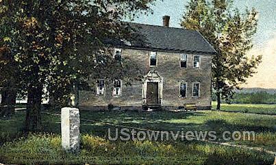 Reverend John Williams House - Deerfield, Massachusetts MA Postcard