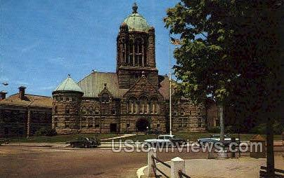 Bristol County Court House - Taunton, Massachusetts MA Postcard
