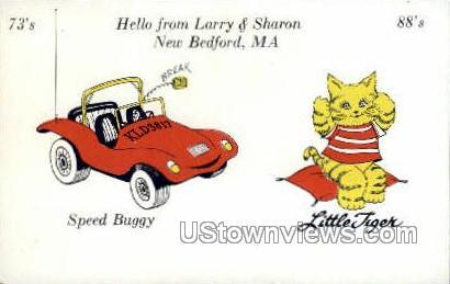 Larry & Sharon - New Bedford, Massachusetts MA Postcard