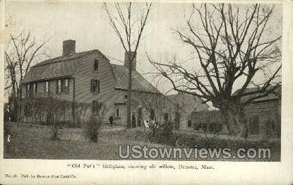 Old Put's Birthplace - Danvers, Massachusetts MA Postcard