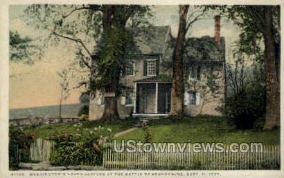 Battle of Brandywine, Sept 11, 1777 - Misc, Massachusetts MA Postcard