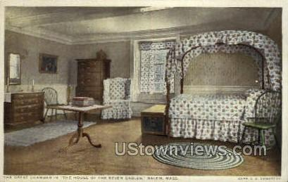 Great Chamber, House of the Seven Gables - Salem, Massachusetts MA Postcard