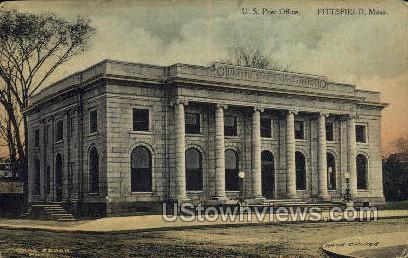 US  Post Office - Pittsfield, Massachusetts MA Postcard