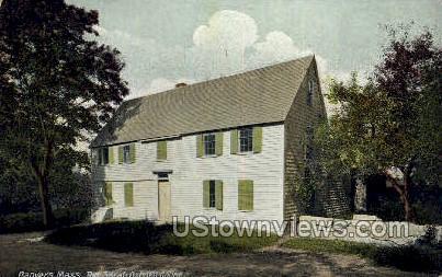 Sarah Osborn House - Danvers, Massachusetts MA Postcard