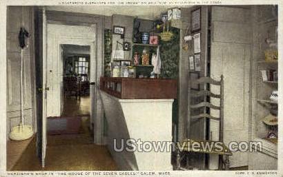 Hepzibah's Shop, House of the Seven Gables - Salem, Massachusetts MA Postcard