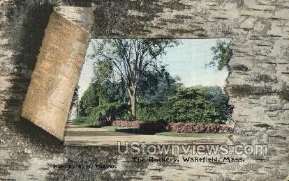 The Rockery - Wakefield, Massachusetts MA Postcard