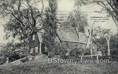 Fairbanks House, 1636 - Dedham, Massachusetts MA Postcard