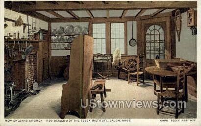 Museum of the Essex Institute - Salem, Massachusetts MA Postcard
