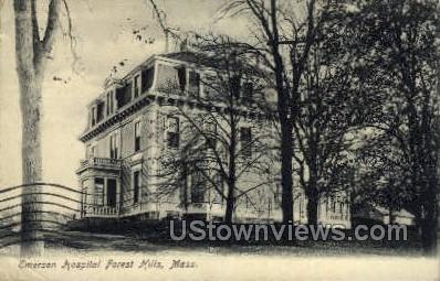 Emerson Hospital Forest Hills - Massachusetts MA Postcard