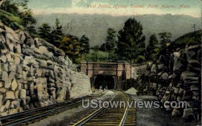 West Portal, Hoosac Tunnel - North Adams, Massachusetts MA Postcard
