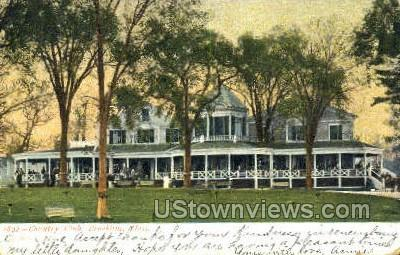 Country Club - Brookline, Massachusetts MA Postcard