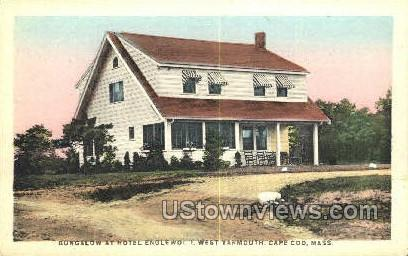Bungalow, Hotel Englewood - Cape Cod, Massachusetts MA Postcard