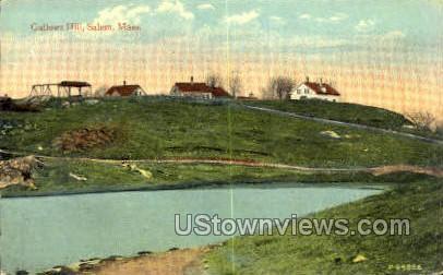 Gallows Hill - Salem, Massachusetts MA Postcard
