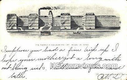 Mammoth Douglas Factory - Brockton, Massachusetts MA Postcard