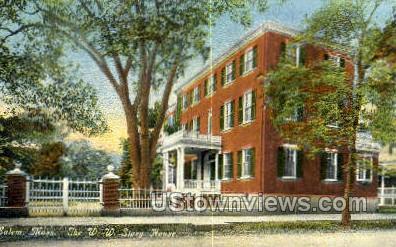THE WW Story House - Salem, Massachusetts MA Postcard