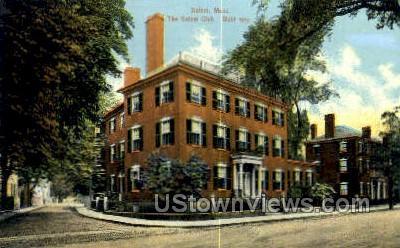 Salem Club - Massachusetts MA Postcard
