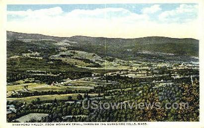 Stamford Valley - Berkshire Hills, Massachusetts MA Postcard