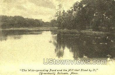 Scituate, Massachusetts     ;     Scituate, MA Postcard