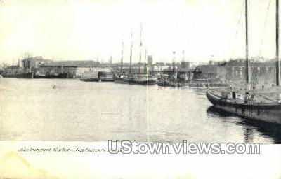 Newburyport Harbor - Massachusetts MA Postcard