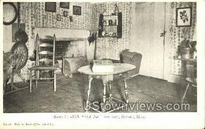 Old Put was Born - Danvers, Massachusetts MA Postcard