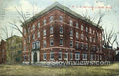 YWCA Bldg - Lowell, Massachusetts MA Postcard