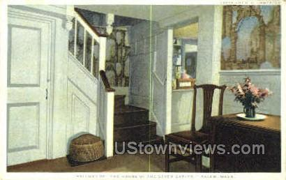 Hallway, House of the Seven Gables - Salem, Massachusetts MA Postcard