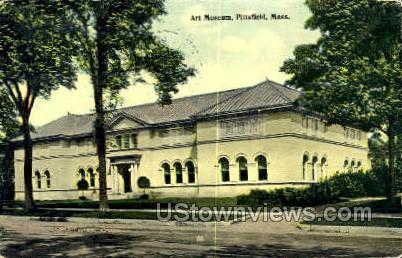 Art Museum - Pittsfield, Massachusetts MA Postcard