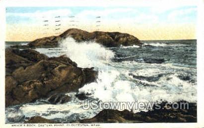 Brace's Rock, Eastern Point - Gloucester, Massachusetts MA Postcard