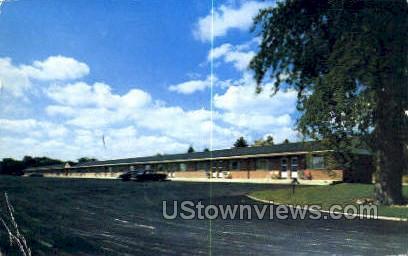 Coronet Motel - Danvers, Massachusetts MA Postcard