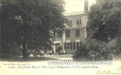 Hooper Mansion - Danvers, Massachusetts MA Postcard