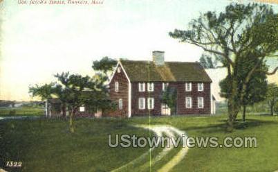 Gen Jacob's House - Danvers, Massachusetts MA Postcard