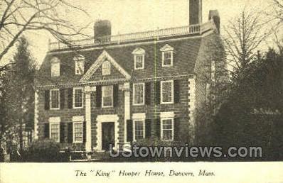 King Hooper House - Danvers, Massachusetts MA Postcard