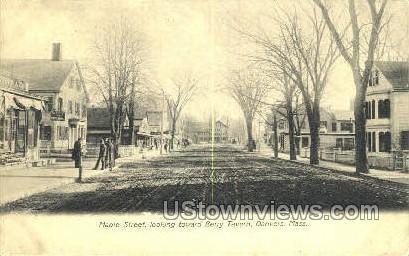 Maple Street, Berry Tavern - Danvers, Massachusetts MA Postcard