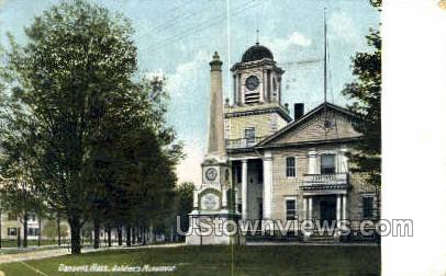 Soldiers Monument - Danvers, Massachusetts MA Postcard