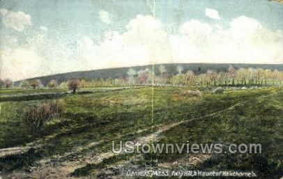 Folly Hill - Danvers, Massachusetts MA Postcard