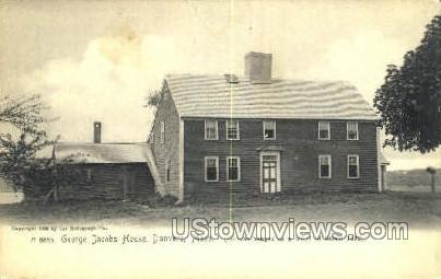 George Jacobs House - Danvers, Massachusetts MA Postcard