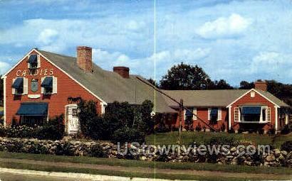 Home of Putnam Pantry Candies - Danvers, Massachusetts MA Postcard