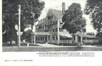 Old Berry Tavern - Danvers, Massachusetts MA Postcard
