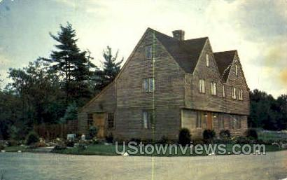 Old Salem House Candies - Danvers, Massachusetts MA Postcard