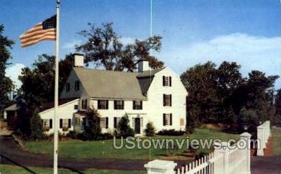 Birthplace of Gen Israel Putnam, Jan 17, 1718 - Danvers, Massachusetts MA Postcard